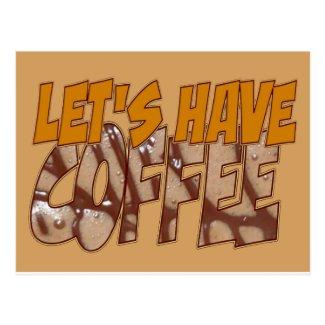 Friendship Coffee Postcard