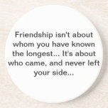 friendship coster drink coasters