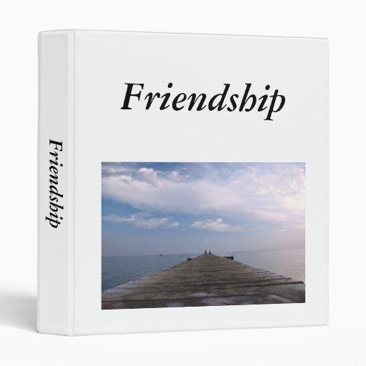 friendship custom designed 3 ring binder zazzle