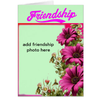 friendship customize greeting cards
