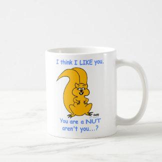 Friendship Cute Funny Cartoon Squirrel Coffee Mug