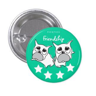 Friendship Dog Button