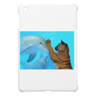 Friendship: Dolphin and Tiger meet iPad Mini Case