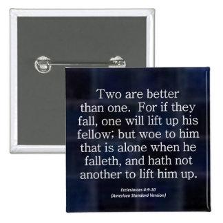 Friendship Ecclesiastes 4-9 Condensed Button