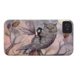 Friendship Fairy and Owl iPhone Case iPhone 4 Case-Mate Cases