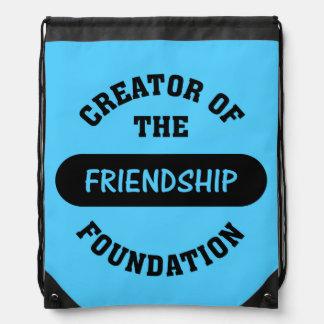Friendship Foundation Drawstring Bags