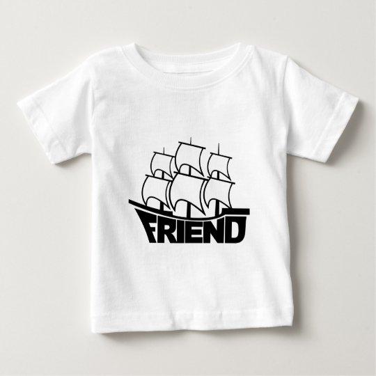 Friendship Friend Ship Baby T-Shirt