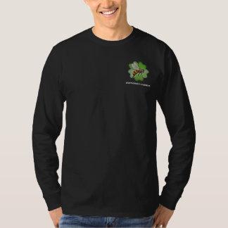 Friendship Gardens Logo- Black Long T-Shirt