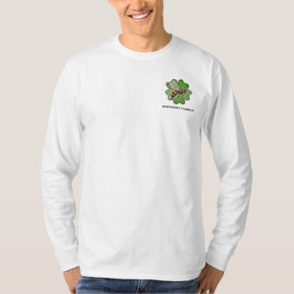 Friendship Gardens Logo- White Long T-Shirt