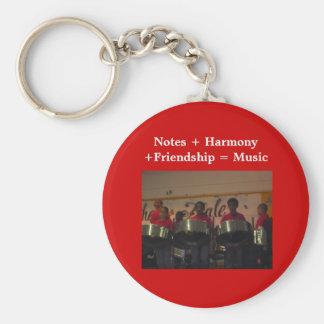FRIENDSHIP GIFT COLLECTION BASIC ROUND BUTTON KEYCHAIN