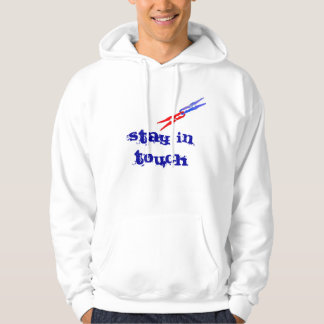 Friendship hoodie, stay in touch, call me hooded pullover