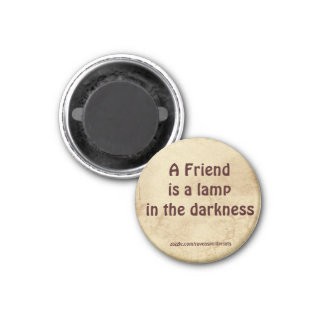 Friendship Inspirational Motivational Magnet