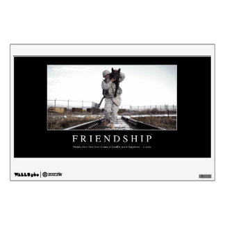 Friendship: Inspirational Quote Wall Skins