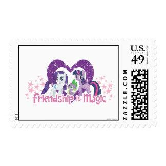 Friendship is Magic Stamp