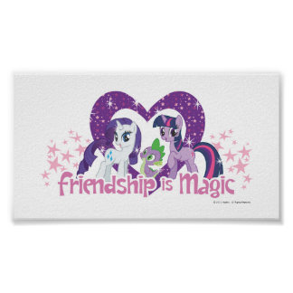 Friendship is Magic Poster