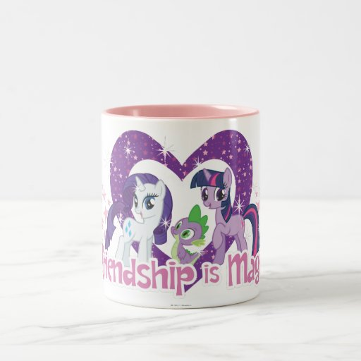Friendship is Magic Two-Tone Coffee Mug
