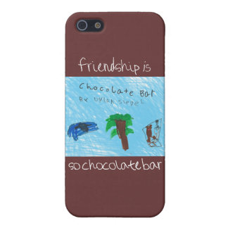 Friendship is So Chocolate Bar iPhone 5 Cover