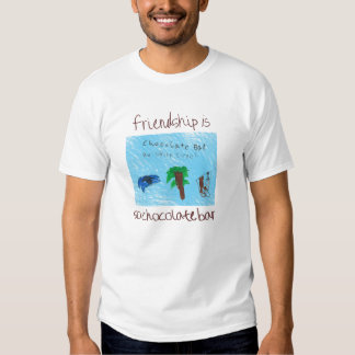 Friendship is SoChocolate Bar tee! T-shirt