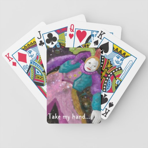 Friendship Jester Bicycle Poker Deck