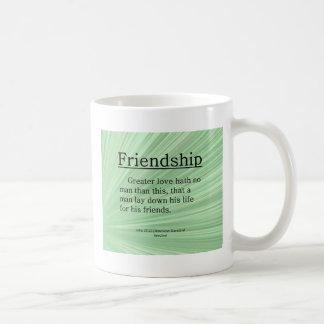 Friendship John 15:13 Coffee Mug