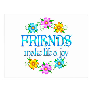 Friendship Joy Postcard