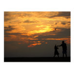 Friendship Kite Flying Postcard