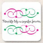 Friendship Links Coaster