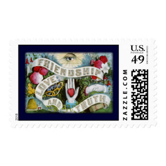 friendship Love and truth Postage