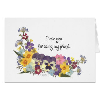 Friendship & Love Card
