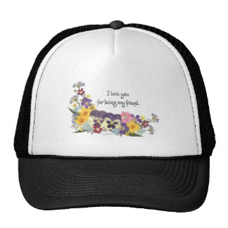 Friendship Love Mesh Hats