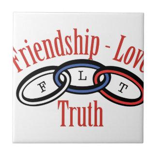Friendship Love Truth Tile