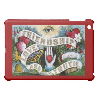Friendship love truthpainting case for the iPad mini