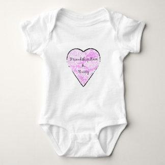 Friendship, Love & Unity Baby Bodysuit