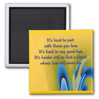 Friendship 2 Inch Square Magnet