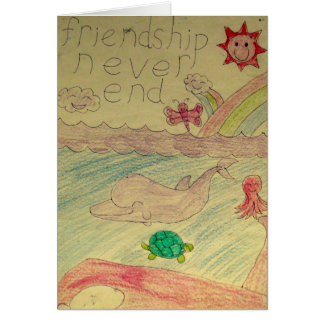 Friendship Never End Card