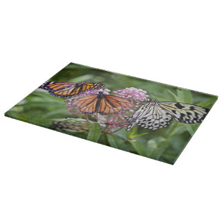 Friendship Of A Butterfly Cutting Board