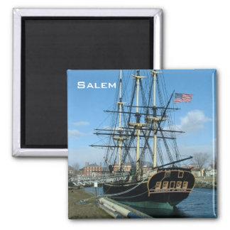 Friendship of Salem 2 Inch Square Magnet