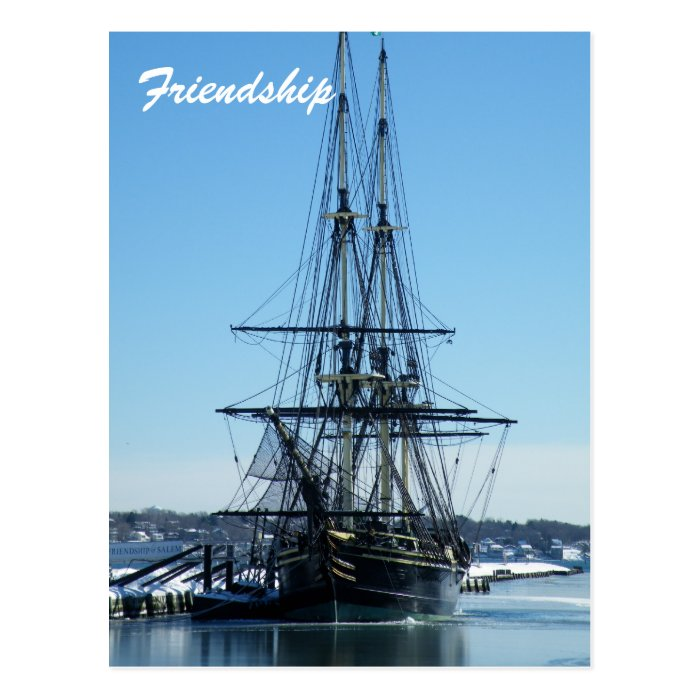 Friendship of Salem Postcard