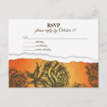 Friendship on Fire RSVP Postcard