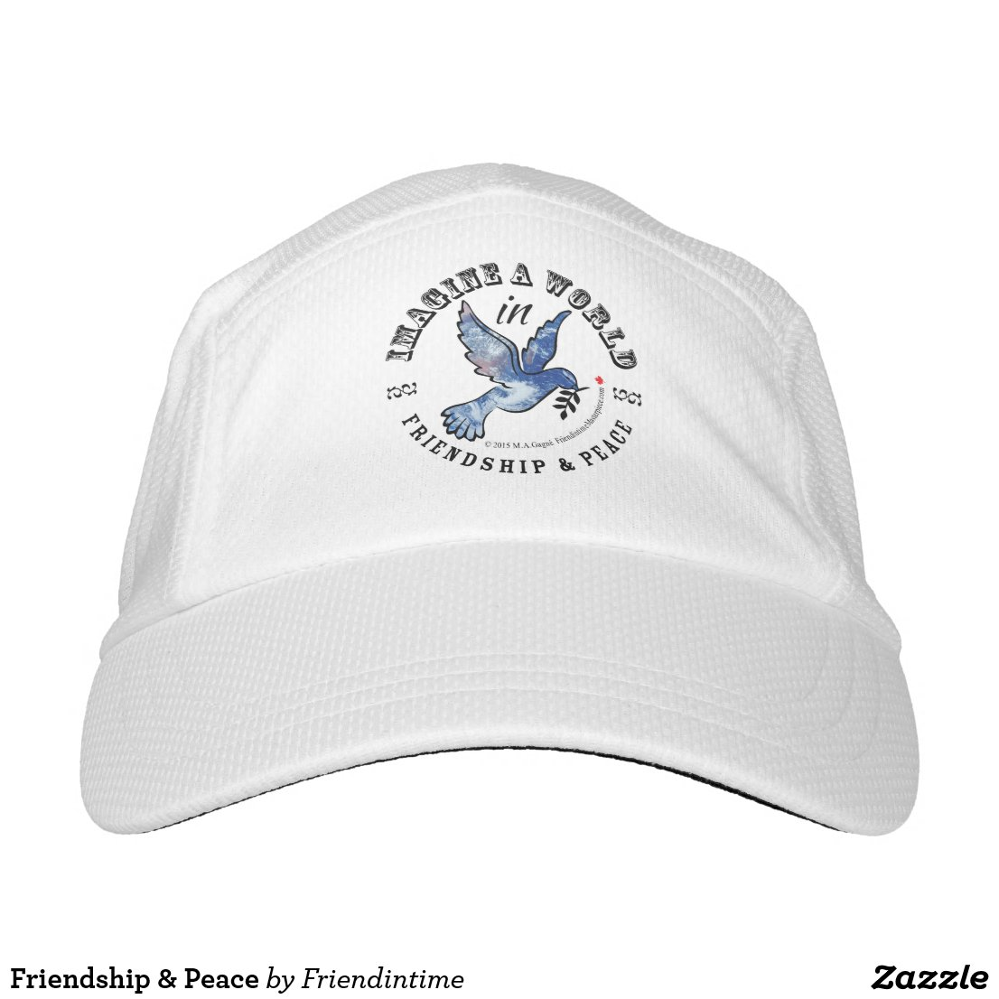 Friendship & Peace Headsweats Hat
