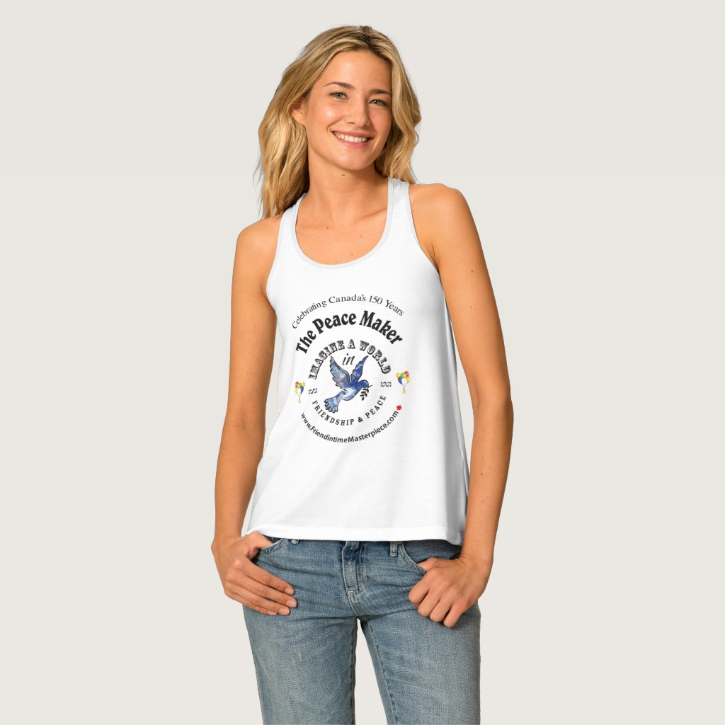 Friendship & Peace Tank Top