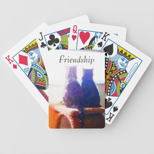 Friendship Playing Cards