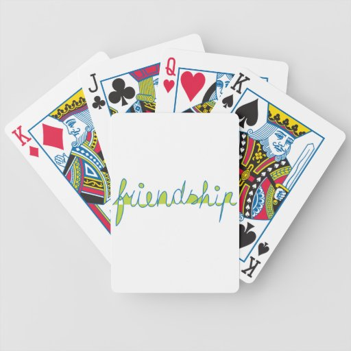 Friendship Bicycle Card Deck