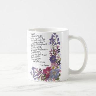 Friendship poem coffee mug