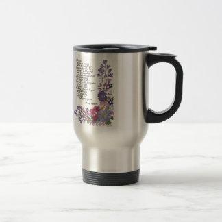 Friendship poem travel mug