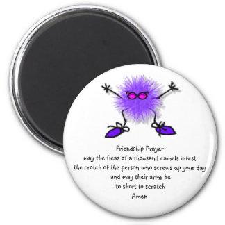 Friendship Prayer Fridge Magnets