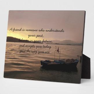 Friendship Proverb Plaque