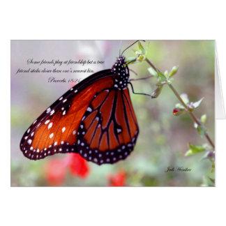 Friendship-Proverbs 18:24 Card