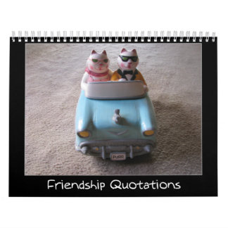 Friendship Quotations Calendars