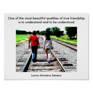 Friendship Quote -Poster Poster